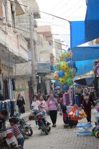 Straßenansicht, Kobane 10/2018
